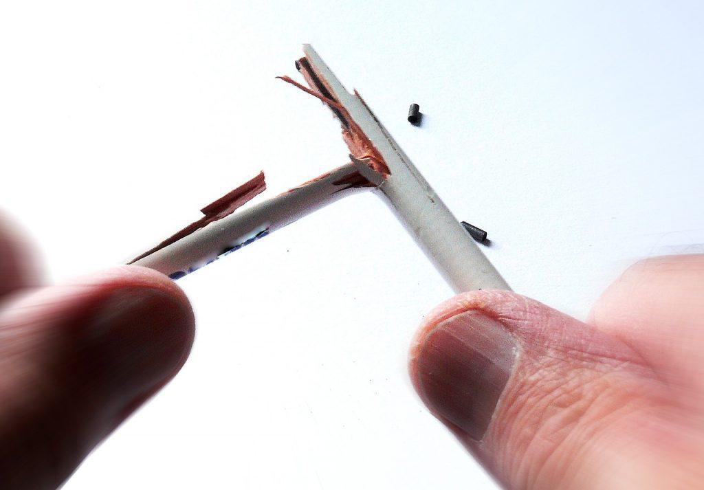 pencil-broken